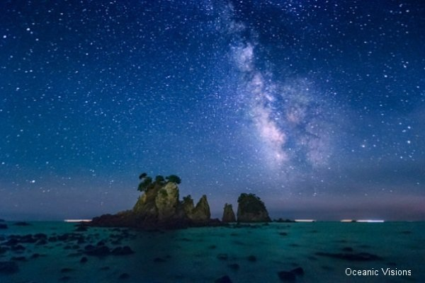 Milky Way over The Minokake-Rocks