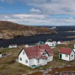 Battle Harbour, Labrador, an island in the Labrador Sea.
