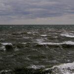 Atlantic Ocean eye-watering gale.