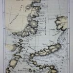 """Chart of Smith Sound Showing Dr. Hayes Track,"" from ""The Open Polar Sea,"" 1867 1st edition."