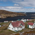 Battle Harbour, Labrador, Summer Fishing Station, National Historic Site of Canada.
