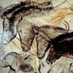 """Panel of Horses,"" Chauvet-Pont-d'Arc Cave, Southern France, ""Popular Archaeology,"" Volume 4, September 2011."