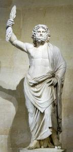 Jupiter of Smyrna, Restored as Zeus, circa 1686, Louvre Museum.