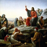 Sermon on the Mount by Carl Heinrich Bloch, 1834 - 1890.