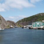 Quidi Vidi fishing village near St. John's, NF, Wikimedia photo.