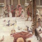 """Saint Eulalia,"" John William Waterhouse,"" 1885, Tate Britain, London, Wikipedia photo."