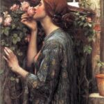"""The Soul of the Rose,"" John William Waterhouse, 1908, Wikimedia photo."