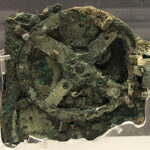 Fragment A of Antikythera Mechanism (Front).