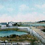 Postcard, dated 1908, Hugh C. Leighton Co., Wikipedia photo.