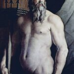 """Andrea Doria as Neptune,"" Angelo Bronzino, circa 1540 - 1550, Wikipedia photo."