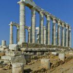 Temple of Poseidon, A. Savin, 2013, Wikipedia photo.