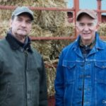 """Father and son, red barns and lobster boats..."""