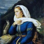 """Ingeborg,"" Peter Nicolai Arbo, 1868, Wikimedia photo, for this poem Brithe."