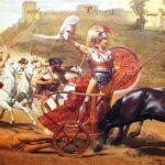 """Triumph of Achilles in Corfu Achilleion,"" Franz Matsch, 1892, Wikipedia photo."