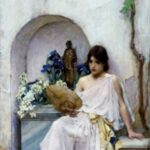 Flora (white dress), John William Waterhouse, 1890. Courtesy of www.jwwaterhouse.com