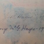 Hayes Association Signatures
