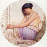 A Grecian Girl, Godward, 1908