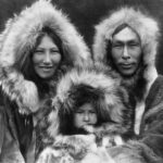 Inupiat Family from Noatak, Alaska, 1929, Edward S. Curtis, Wikimedia photo.