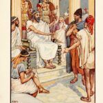 "Solon the Wise Law Giver of Athens, ""The Story of Greece,"" Mary Macgregor, Walter Crane, Illustrator, 2006."