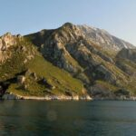 """Mount Athos,"" Michael Clarke Stuff, 2012, Wikipedia photo."