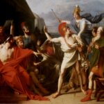 """The Wrath of Achilles,"" Michel Drolling, 1819, Wikipedia photo."