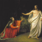 Resurrected Jesus Appearing to Mary Magdalene, Alexander Andreyevich Ivanov, 1834, Wikipedia photo.