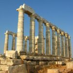 Temple of Poseidon, Cape Sounion, Greece, Wikipedia photo, 2009.