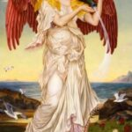 """Eos,"" Evelyn De Morgan, 1895, Wikipedia photo."
