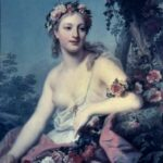 """Flora,"" Louise Vigee Le Brun, Musée des Beaux Arts, Bordeaux, for this poem, Thera."
