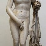 """Aphrodite of Knidos"" by Praxiteles of Athens, 4th century BC, Wikimedia photo."
