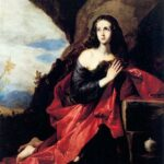Saint Mary Magdalene of the Desert, Jusepe de Ribera, c. 1641, WikiArt photo.