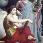 """Art and Literature,"" William-Adolphe Bouguereau, 1867, WikiArt photo."