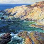 """Incoming Tide,"" Guy Rose,"" 1917, WikiArt photo."