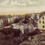 Lubec, Maine from circa 1910 postcard, Robbins Brothers Boston, Wikipedia photo.