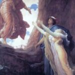 """Return of Persephone,"" Frederic Leighton, WikiArt photo."