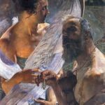 """The Resurrection (Immortality),"" Jacek Malczewski, WikiArt photo."