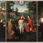 """Triptych of Jan Des Trompes,"" Gerard David, circa 1505, Wikipedia photo."