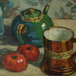 """Still Life with Teapot,"" Gregoire Boonzaier, 1930, WikiArt photo."