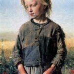 """Fisher Girl,"" Ilya Repin, 1874, WikiArt photo."