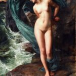 """Andromeda,"" Edward Poynter, 1869, Wikipedia."