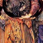 """Days of Creation, Third Day,"" Edward Burne-Jones, WikiArt."