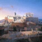 Acropolis of Athens, Leo von Klenze, 1846, Wikipedia.