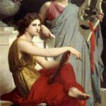 """Art and Literature,"" William-Adolphe Bouguereau, 1867, WikiArt."