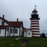 West Quoddy Head Lighthouse, Lubec Maine.
