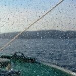 """""""Plowing waves, windshield covered in spray..."""""""