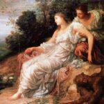 """Ariadne on Island of Naxos, George Frederick Watts, 1875."