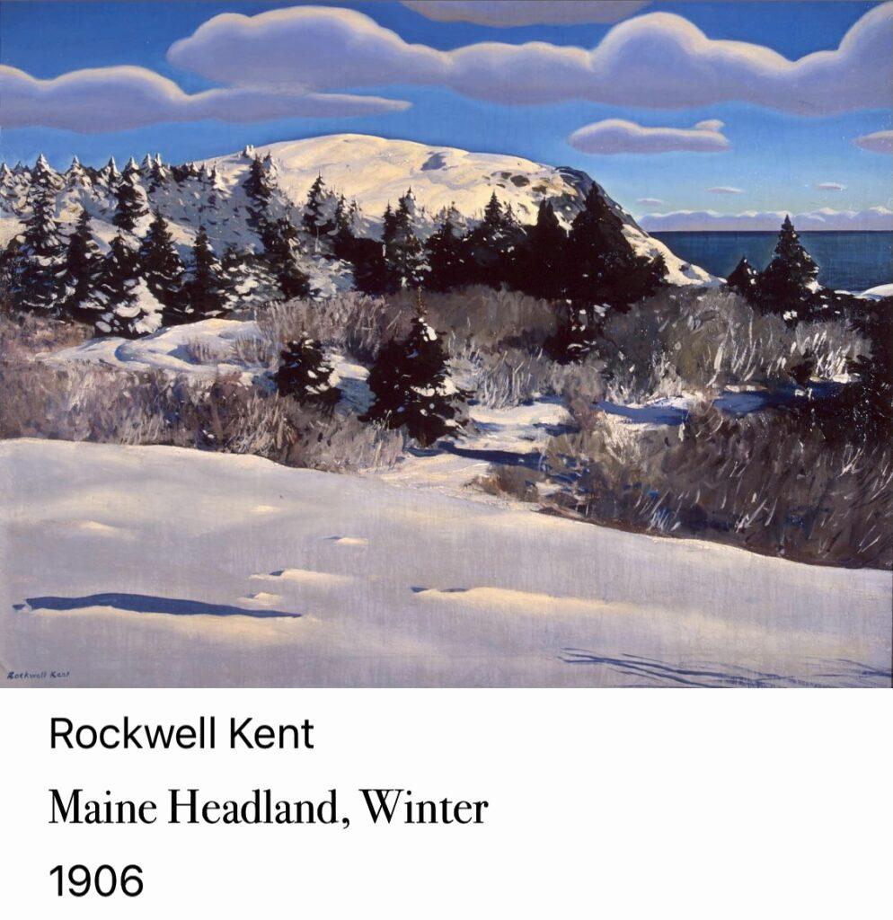 1317. Maine, Home Headlands